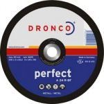 DRONCO диск отрезной по металлу   115x3x22,23 A 24 R Perfect