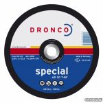 DRONCO диск отрезной по металлу  AS 30 T Spesial 125x2x22,23